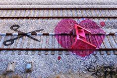 Pretty in Pink: STREET ART: BORDALO II