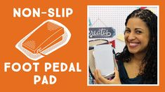 New Tutorial: Sewing Machine Foot Pedal Non-Slip Pad - Crafty Gemini Creates Easy Sewing Projects, Sewing Hacks, Sewing Crafts, Sewing Tips, Sewing Ideas, Quilting Tips, Quilting Tutorials, Sewing Tutorials, Sewing Basics