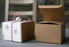 Schachtel mit Sternchen