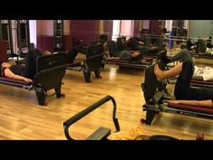 Pilates Reformer Jumpboard with A Life of Energy - YouTube