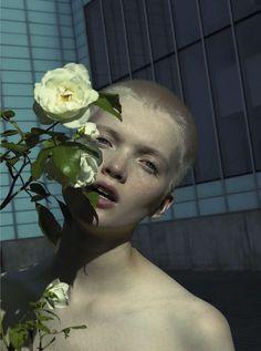 Vogue Italia October 2015, Youth Ruth Bell by Mert Alas & Marcus Piggott