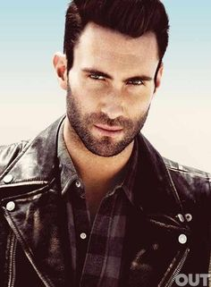Adam Levine with the brooding look... - Click image to find more hot Pinterest pins