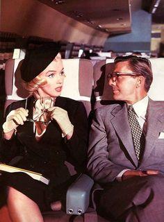 Marilyn Monroe en una escena de 'Cómo casarse con un millonario', (Jean Negulesco, 1953)