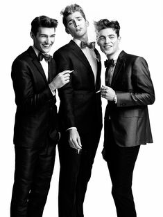 Brandon Gray, Colten Scott, Justin Pinos & Devin Grant in Headliners by Richard Pier Petit for Fashionisto Exclusive