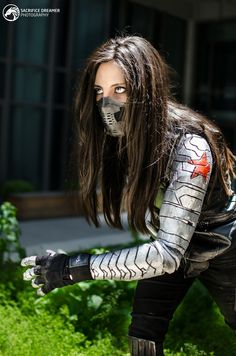 Halloween Costumes For Girls, Girl Costumes, Costumes For Women, Cosplay Outfits, Cosplay Costumes, Winter Soldier Cosplay, Bucky, James Barnes, New Avengers