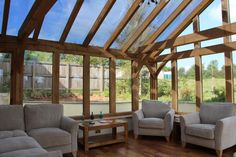 Oak Conservatory in Poughill - SM Jago & Son