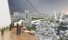 Concurso Nacional de Arquitetura Ponte e Passarela em Blumenau – 6º lugar