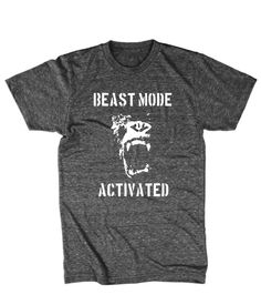 Beast Mode Activated Shirt Workout Crossfit Shirt S-2XL on Etsy, $16.99