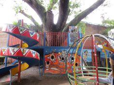 Het park van de sterren, aangelegd zodat gehandicapte kinderen ook kunnen spelen als ieder ander kind