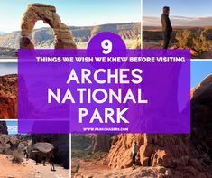 """Let's just say, before we even left Moab, we'd already started a list of """"Things We Wish We Knew Before Visiting Arches"""" to post here. National Park Passport, National Parks, Night Sky Photos, Passport Stamps, Canyonlands National Park, Travel Dating, Park Service, Best Hikes, Travel Information"""