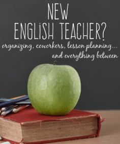 The new English teacher ultimate guide. Includes advice on lesson planning, classroom setup, organizing files, and what to do on the first day. Wonderful resource!