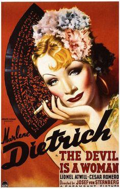 """1935 - Place 4 - """"The Devil Is A Woman"""" Josef von Sternberg"""