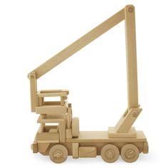 Wooden Boom Lift Truck - Gus