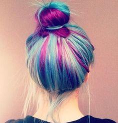 cabello fantasia arcoiris - Buscar con Google