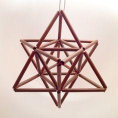 Copper Merkabah - Star Tetrahedron - Sacred Geometry by ManifestLoveNY on Etsy https://www.etsy.com/listing/218866960/copper-merkabah-star-tetrahedron-sacred