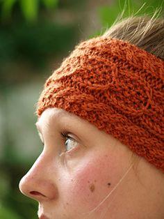 Wishbone Headband Knitting one day when I learn to knit properly!