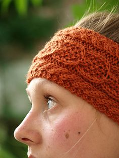 Wishbone Headband Knitting one day when I learn to knit properly!