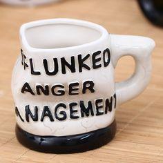 Big Mouth Anger Management Design Ceramic Mug