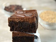 Calcium Chocolate Vegan Fudge Recipe - Dairy Free & High Calcium