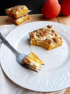 Culinary Couture: Peaches and Cream Bars