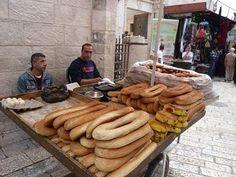 Jerusalem bread sellers (كعك القدس)