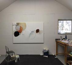 This one gives a sense of scale. #abstractpainting #abstractartist #artstudio #artprocess #artiststudio #abstractart #curator #artinspiration #inspirations #paint #goldenpaints  #artofinstagram #instaart #painting #art #contemporaryart  #fineart #artist #abstract #kunst #roseumerlik #williamsburgoils #goldenpaints
