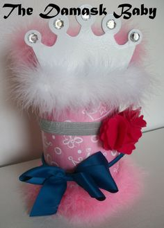 Princess Headband Holder by TheDamaskBaby on Etsy, $22.00