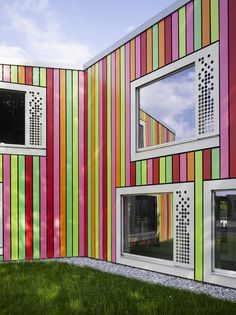 Kindergarten in Monthey, Switzerland by Bonnard Woeffray Architects