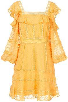 1ac9d78f033 Rachel Gilbert Ollie spotted mini dress