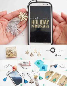 Phone charms   DIY Stuff Crafty Ideas Crafty B it