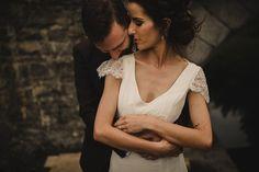 Beautiful Rustic Millhouse Wedding by Tomasz Kornas Photo // www.onefabday.com