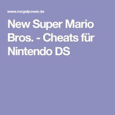 New Super Mario Bros. - Cheats für Nintendo DS