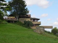Taliesin -This Wisconsin studio and retreat built by Frank Lloyd Wright in 1911 was where he designed many of his architectural masterpieces