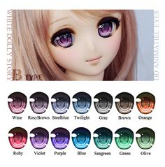 - W.D.S - DD Animatiec eyes Type-B | by - White Dolly Story -