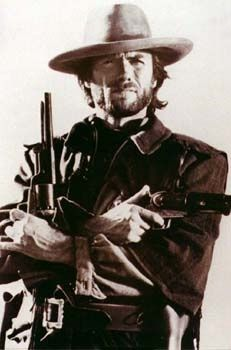 Cowboy clint eastwood young handsome
