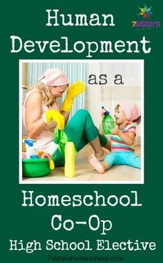 """Homeschool Co Op High School Elective or Christian school class that moves beyond simple """"Health"""" and studies how we grow from womb to old age. Wonderful activities as well!"""