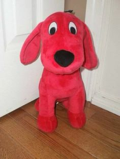 """CLIFFORD the BIG RED DOG 14"""" stuffed PLUSH KOHLS CARES for KIDS PBS series 2011"""