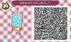 water and pastel border
