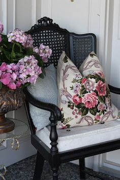 proof that shabby chic doesn't have to be all pink and white