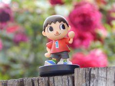 Villager posando para la cámara. _________________________________________ #nintendo #amiibo #villager #aldeano #jueganintendo #playnintendo #love #videogames #gamergirl #games by nintendojc