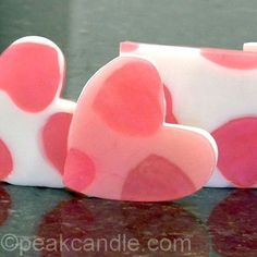 tired of the same old soaps - get creative with cookie cutters and microwaveable soap
