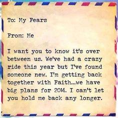 So long fear
