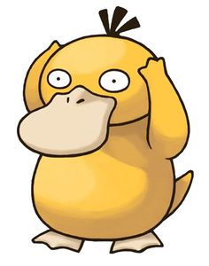 """I nicknamed my Psyduck """"EPSTEIN"""" after a real guy a knew that would hold his head just like that whenever something bad-strange-surprising would happen!"""