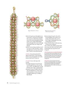 FREE Tutorial for PRIMROSE PATH Bracelet Page 3 of 3