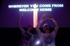 """wherever you come from, welcome home."" <3 #EDC #aboveandbeyond"