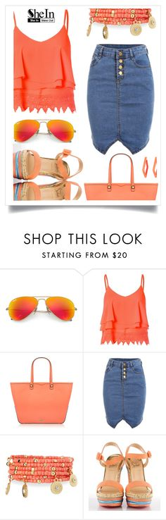 """""""happy"""" by sandevapetq ❤ liked on Polyvore featuring Ray-Ban, Glamorous, Rebecca Minkoff, Emily & Ashley, Christian Louboutin and Alexis Bittar"""