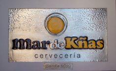 Logo Con Sus Colores De: Cervecería mardeKñas La Mejor Y Más De Moda. La Antilla- Lepe- (Huelva)