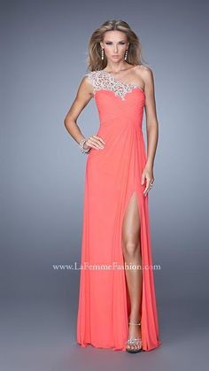 La Femme 21219 | La Femme Fashion 2014 - La Femme Prom Dresses - La Femme Cocktail Dresses