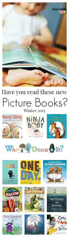 great ideas for bedtime! Children's Picture Books Winter 2015