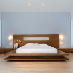 New Bedroom Design Minimalist Quartos Ideas Bed Frame Design, Bedroom Bed Design, Bedroom Furniture Design, Bed Furniture, Bedroom Decor, Wooden Furniture, Wood Bed Design, Fine Furniture, Furniture Ideas